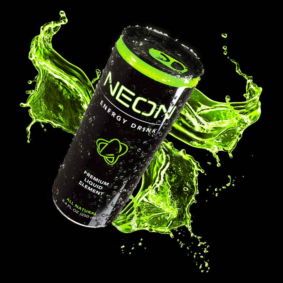 the neon energy drink